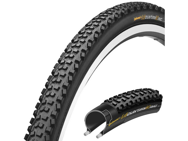 "Continental Mountain King CX Rengas Performance 28"" taitettava"